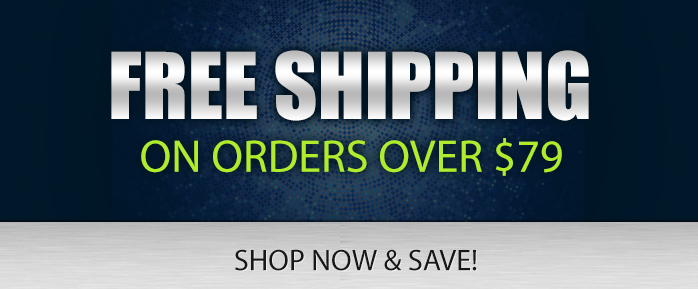 Free Shipping on Orders over 79