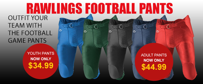 Rawlings football pants on sale